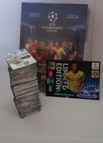 Karty Panini UEFA Champions League 13-14