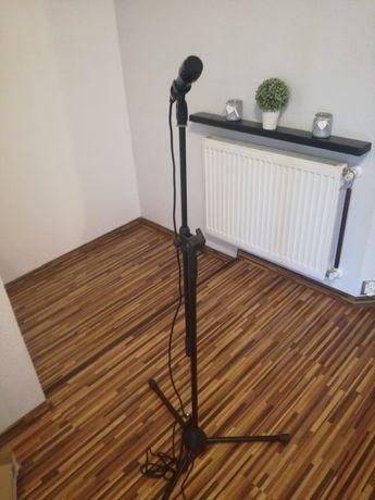 Mikrofon, mixer i statyw pelny zestaw nowy
