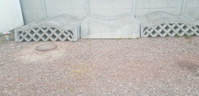 Płyty betonowe. Używane