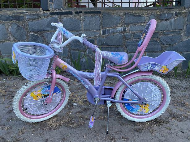 Велосипед Frozen 18'' (Elsa, фроузен, эльза, ельза, холодное сердце)