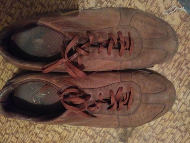 кожаные кроссовки merrel оригинальные