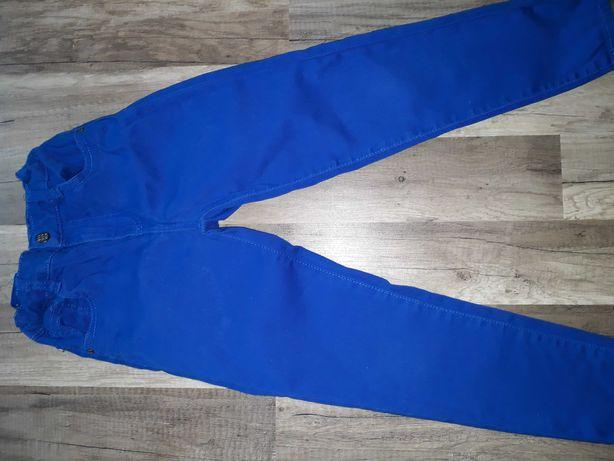 rurki, jeansy reserved, spodnie, chinosy reserved r. 128