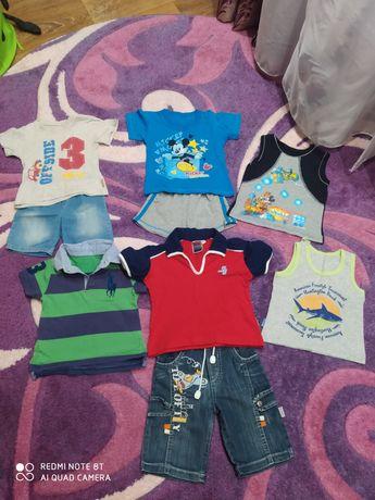 Продам летние вещи на мальчика (300 за все)