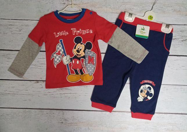 Костюм Disney Cimpa ЛЮКС новый штаны + кофта 6-9-12-24мес