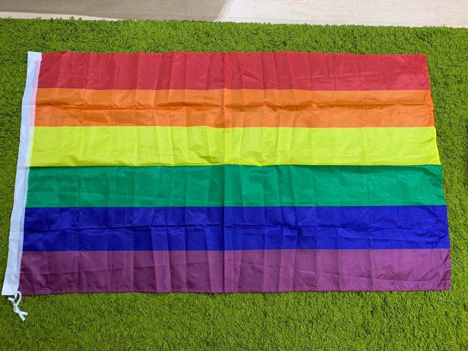Радужный флаг ЛГБТ 150*90 Харьков - изображение 1