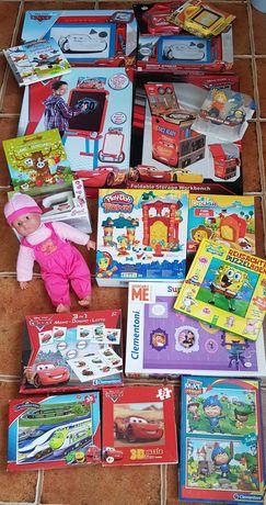 Zabawki nowe i używane w bdb stanie