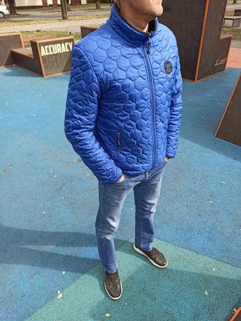 Ветровка мужская куртка р46-50!подростковая чоловіча осень стеганая