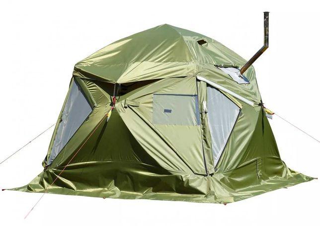 Универсальная палатка Лотос Кубозонт 4у Шатер для экспедиций