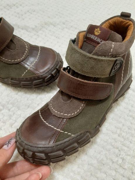 р. 34 (22 см) Кожаные ботинки Lumberjack, Италия