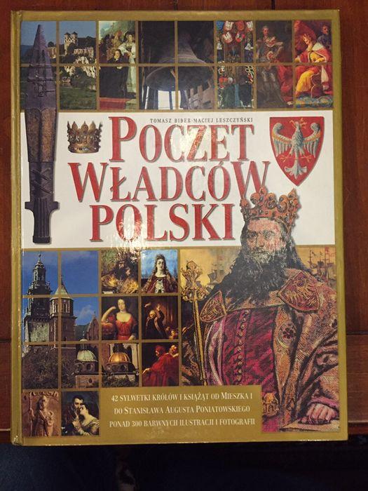 POCZET WŁADCÓW POLSKI Tomasz Biber Maciej Leszczyński Warszawa - image 1