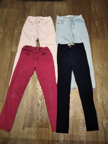 Пакет вещей (джинсы + ветровка), рост 134 - 140 см