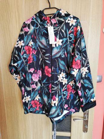 Bluzo-kurtka z kieszeniami