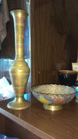 сервиз ваза хрусталь кружка