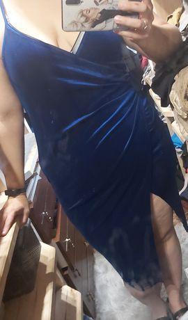 NOWA Sukienka shein 3xl welurowa na święta, wigilię, sylwestra