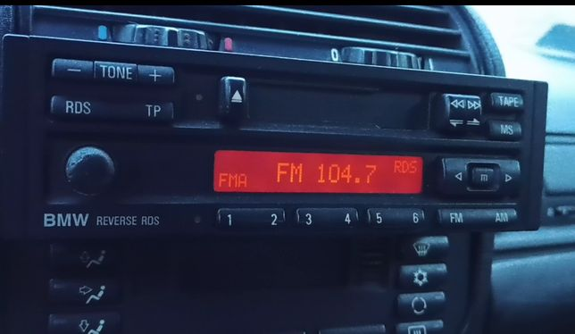 Oryginalne Radio Blaupunkt BMW RDS Casette E30 E32 E34 E36 E28 E24
