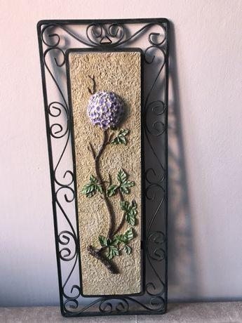 Obrazek dekoracja ścienna metal kamień