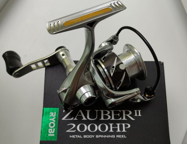 Катушка спиннинг. Ryobi zauber 2000 II hp, новая, плюс подшипники