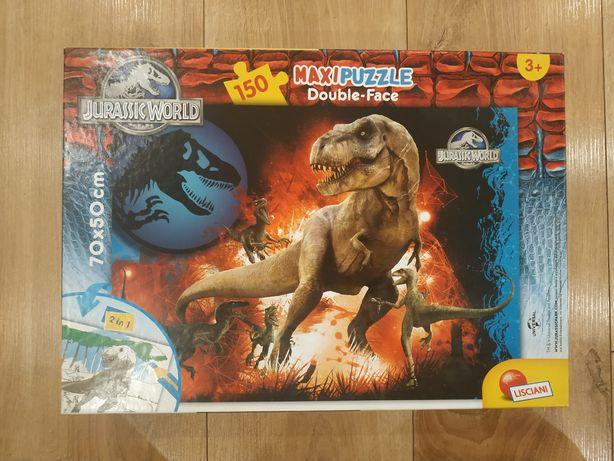 Maxi puzzle Jurassic Park stan bardzo dobry