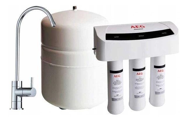 Система фильтрации AEG. Обратный осмос AEG.