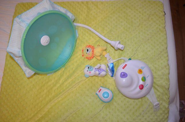 Fisher Price KARUZELA z projektorem niemowlęca N884