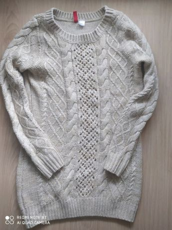ciepły sweter xs h&m wypada s