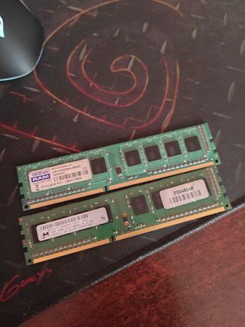 Kości ram DDR3 6gb 1x4gb 1x2gb