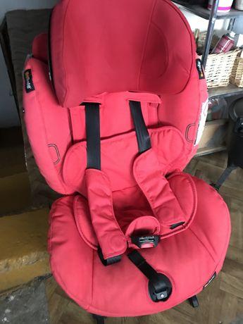 BeSafe iZi Combi x4 isofix fotelik samochodowy czerwony zachod slonca