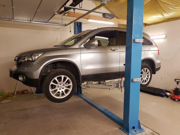 Naprawa, przeglądy, montaż podnośników samochodowych