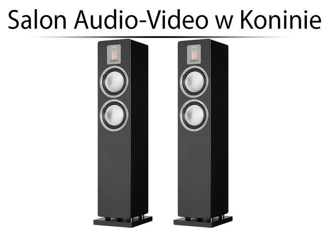 AudioVector QR3 Black Gloss Kolumny podłogowe Instal Audio Konin