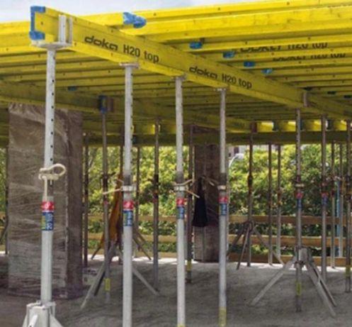 Używany Strop 100 m2  zestaw szalunkow stropowych Podpory