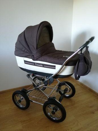 Wózek Roan Marita 3w1, nosidełko/fotelik do auta, spacerówka, gondola
