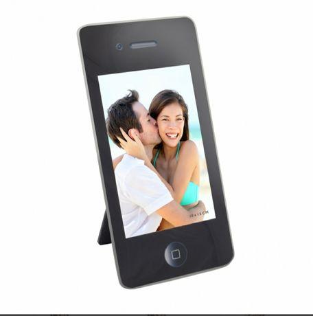 Фоторамка для фото 10на15 рамка для фото у вигляді телефона