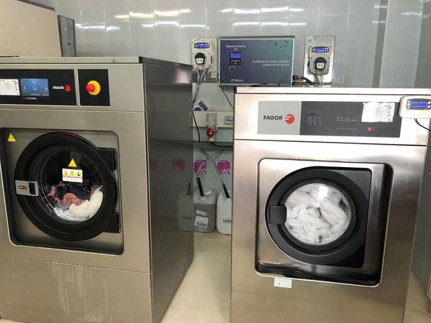 Máquina de lavar roupa Fagor ocasião apta para desinfecção Covid-19