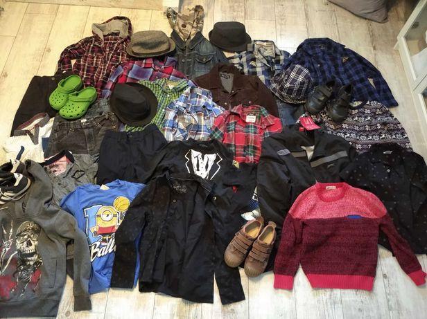 Ubranka dla chłopca 7-8-9 l na sztuki