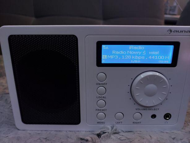 Radio internetowe Auna IR-130 W-LAN białe AUNA