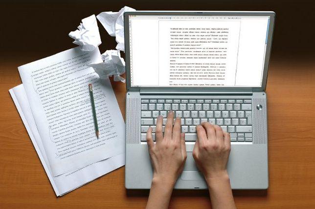 Работа с текстом ( написание, редактирование, набор)