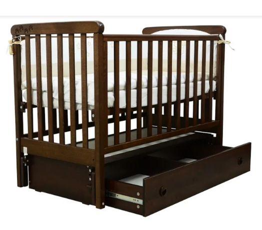 детская кроватка Соня 12-Орех