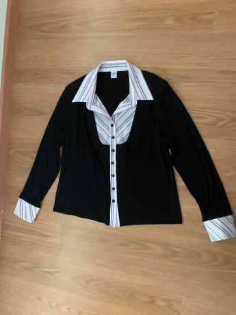 Bluzka czarna r. 48