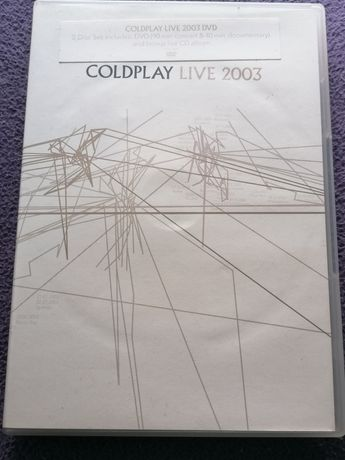 DVD Coldplay Live 2003