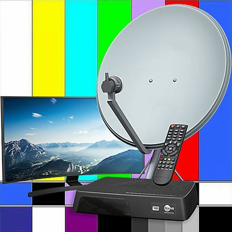 Установка,настройка,ремонт спутниковых антенн.Подключение IPTV.