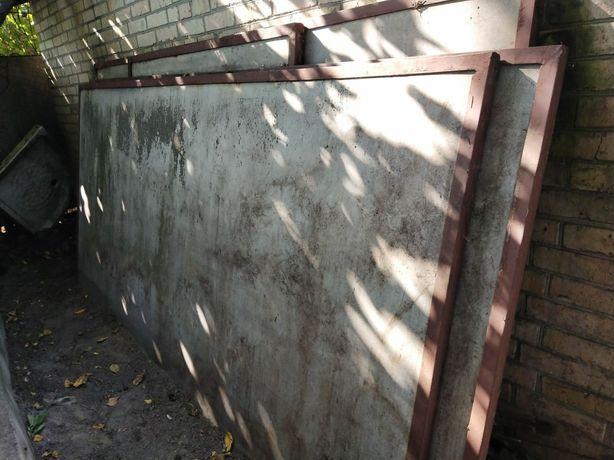 Срочно!!! Забор шиферный в уголках.