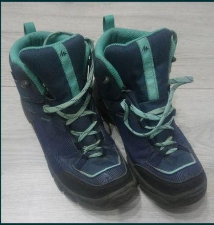 Buty dziewczęce trekkingowe górskie 37 Decathlon MH120 MID