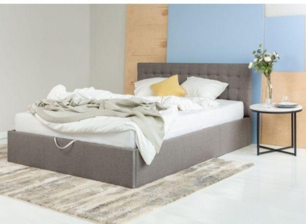 Nowe łóżko tapicerowane z pojemnikiem Nero 160x200 Lectus 699 z 1200!!