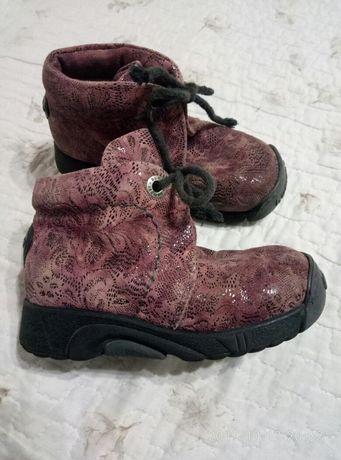 Итальянские ботинки Bumper из натур.кожи. 27размер.