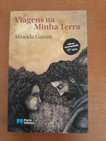 Livro Viagens na minha terra (Almeida Garrett) NOVO