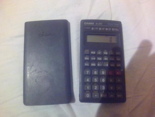 kalkulator casio fx-220 fraction