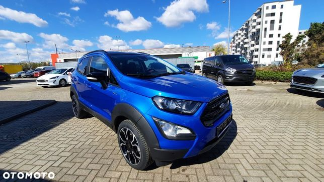 Ford Ecosport 1.0 Ecoboost 125 Km (Z Ass), M6, Fwd B Active /B