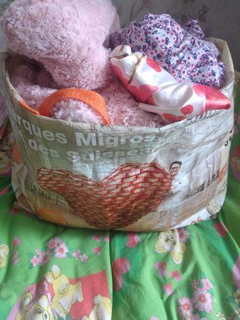 Пакет вещей на девочку 3-9 месяцев