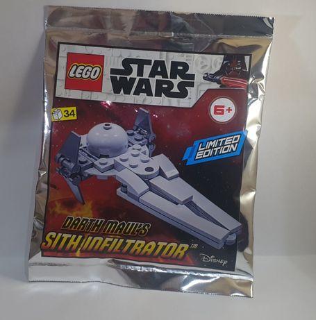 LEGO Star Wars Polybag Darth Maul's Sith Infiltrator 912058 NOWE