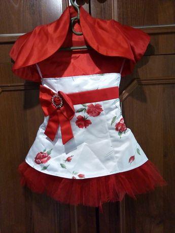 Платье на девочку. Шикарное, нарядное платье